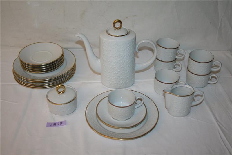 freiberger porzellan diamant kaffee service kaffeeservice 21 tlg kaffeegeschirr ebay. Black Bedroom Furniture Sets. Home Design Ideas