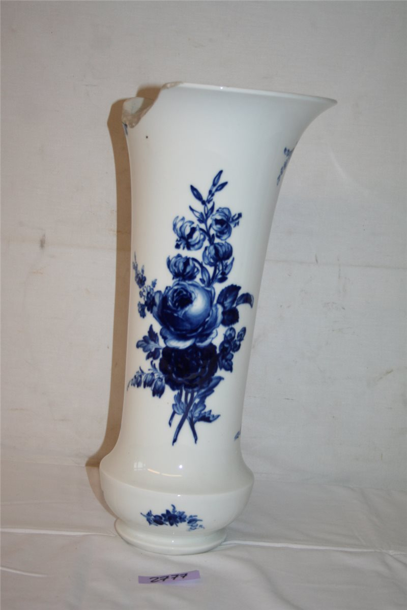 meissen meissner porzellan vase 40 cm blumenvase bodenvase ebay. Black Bedroom Furniture Sets. Home Design Ideas